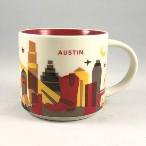 "Austin Starbucks ""You Are Here"" Series Mug"